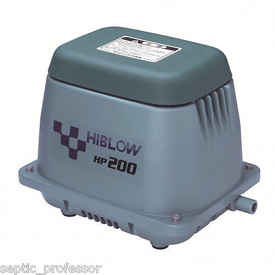 HIBLOW HP-200  NEW SEPTIC AIR PUMP POND AERATOR DIY 2DA