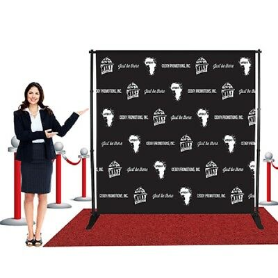 10 'x 8' Backdrop stand Telescopic for Trade Show Exhibitor photo booth - Photo Booth Backdrop Stand