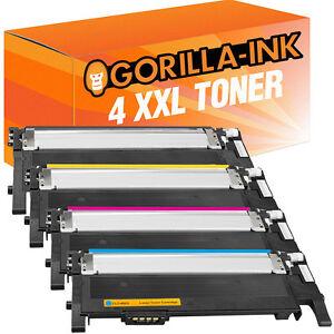 4 Toner für Samsung CLP360 N CLP365 W CLX3300 CLX3305 FN Xpress C410W C460W 406S