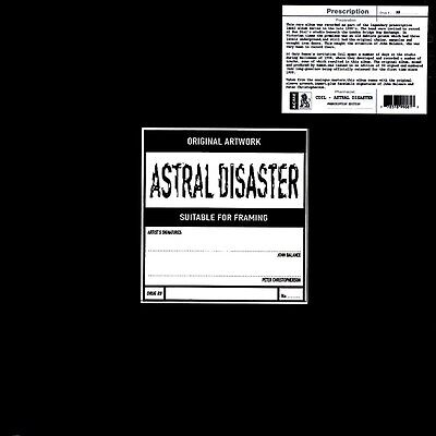 COIL Astral Disaster - LP / Yellow Vinyl - Limited