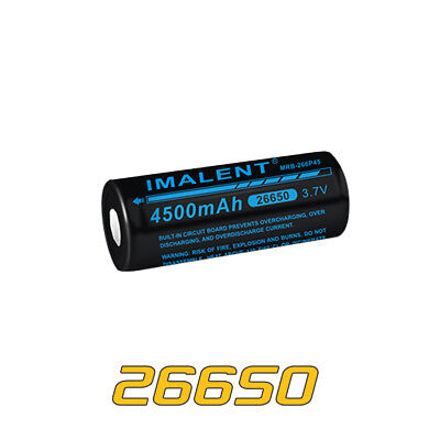 Imalent MRB-266P45 26650 3.7V 4500mAh Li-ion Rechargeable Battery 4500mah Li Ion Battery