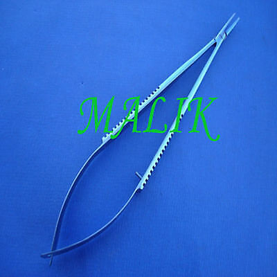Castroviejo Needle Holder Without Lock Ophthalmic Surgical Instruments