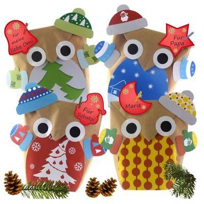 Geschenk-taschen Für Mädchen (12 DIY Geschenktüten für Frauen und Mädchen Weihnachtsfeier Firma Nikolaus Name )