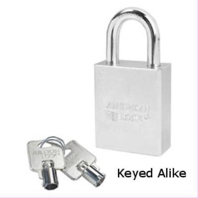 American Lock A7200ka Tubular Padlock 1 18 Shackle Keyed Alike