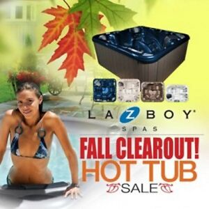FALL HOT TUB BLOW OUT !!