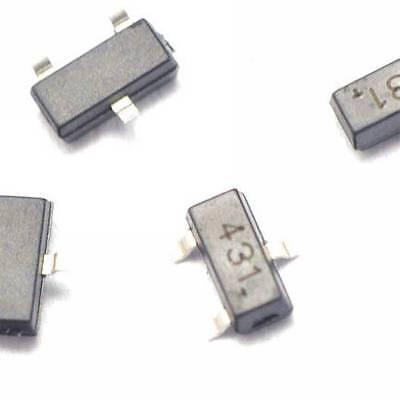 20pcs Tl431 431 Sot-23 Regulators Transistor Smd Transistor New