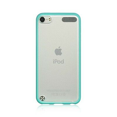(For iPod Touch 5th & 6th Gen - HARD TPU RUBBER GUMMY CASE SKIN COVER TEAL GREEN)