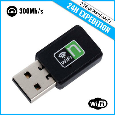 Best Fast Wifi USB Adapter Mini Dongle Network Wireless Adaptor 300Mb/s 802.11N