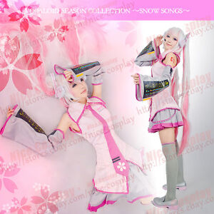 Vocaloid-2-Hatsune-Miku-Sakura-Cosplay-Costume-Headphones-Stickers-By-ASCOSing