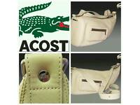 Lacoste leather bag