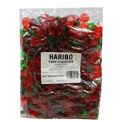 Bulk Gummy Candy (Haribo Happy Cherries Gummi Candy - 5lb Bulk Deal Gummy)