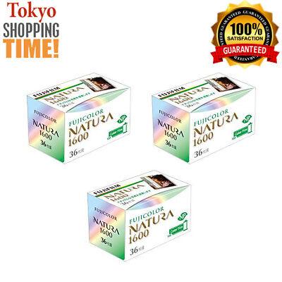 FUJIFILM NATURA 1600 3 Film 36 Pics each ORIGINAL from JAPAN