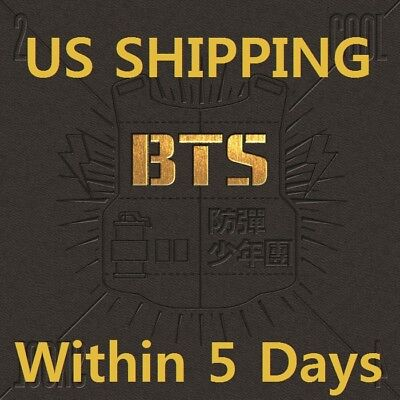US SHIPPING BTS[2 COOL 4 SKOOL]1st Single CD+Booklet+Card+Tracking K-POP 4 Track Single