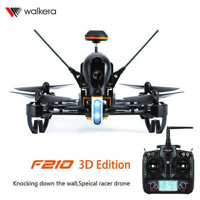 Walkera F210 3D FPV Racing Drone Quadcopter with HD Camera and DEVO 7 Distant