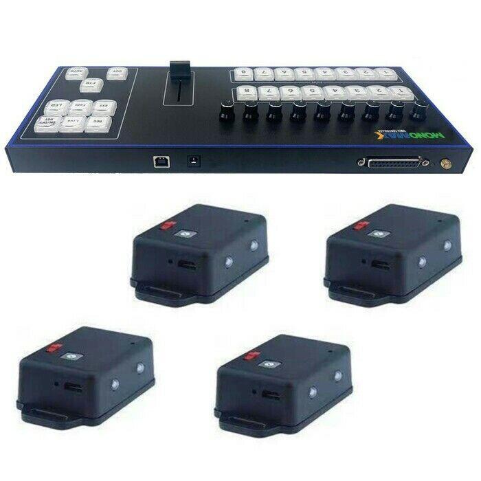 Vmix Midi Controller - Vmix Control Panel + Wireless Tally Light 4 Channel