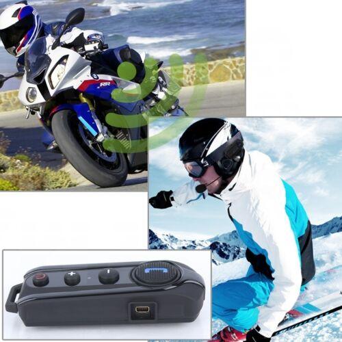 BT-S1 1000M Interphone Helmet Intercom Motorcycle Bluetooth Headset+FM Radio x1