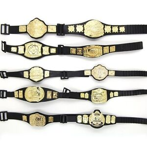 Lot of 10 5'' WWE Wrestling Champion Belt For Figure