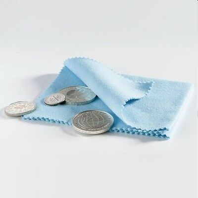 Leuchtturm  Münz-Poliertuch, Reinigungstuch für Münzen und Schmuck (327112)