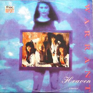 WARRANT-Heaven-UK-Press-CBS-HEAVN-T1-1989-Maxi-45-Tours