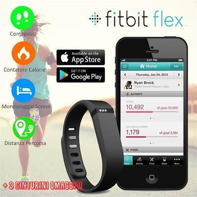 FitBit® FLEX Orologio Nero Activity Tracker