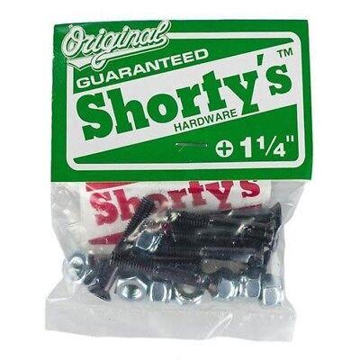 """Shortys 8 PACK Skateboard Hardware 1 1/4"""" PHILLIPS"""