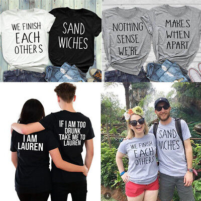 Nothing Makes Sense When We're Apart T-Shirts Best Friend Matching Tee