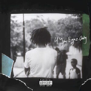J.Cole '4 Your Eyez Only' CD
