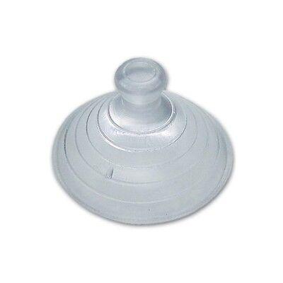 Ventosa Ventose per Vetri Cristalli Trasparente Misura 30 mm conf. 100 Pz