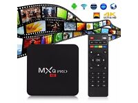 Mxq Pro Fully loaded New Android Box Amlogic S905 Quad Core Android 5.1 2.4G wifi MXQ pro TV Box