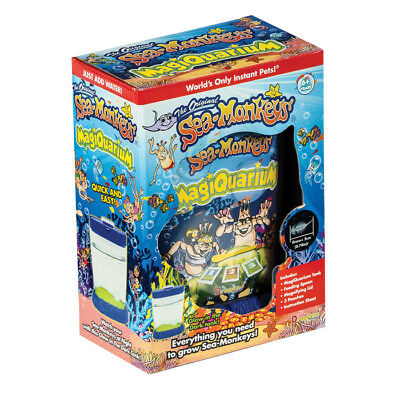 Sea Monkeys Magiquarium with Mystery Light Glow in the Dark 23228