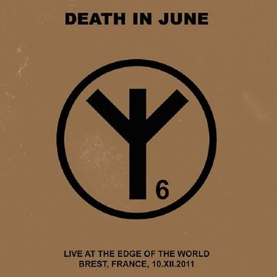 "DEATH IN JUNE Live at the Edge of the World - CD + 7"" / Blue Vinyl (2018)"