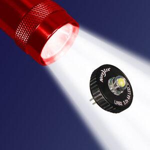 MINI MAGLITE LED UPGRADE AA Bulb Conversion V. II for Torch NITE IZE