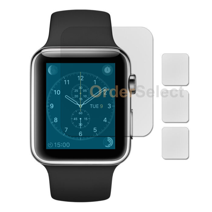 3X Ultra Clear LCD Screen Protector for Apple iWatch Watch 1st Gen 42mm 100+SOLD