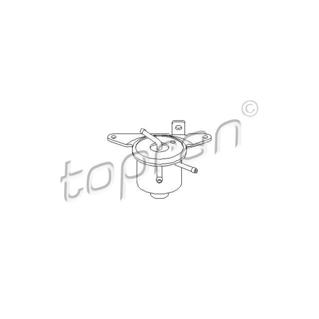 TOPRAN Vapour Trap, carburettor 100 220
