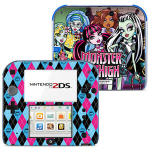 monster high vinyl skin sticker for nintendo 2ds 006 ebay. Black Bedroom Furniture Sets. Home Design Ideas