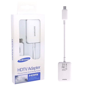 Samsung phone to TV HDMI ADAPTER MHL MIRROR FOR GALAXY AND NOTE