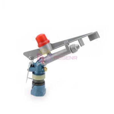 1 360adjustable Impact Sprinkler Gun Water Irrigation Lawn Rain Spray Gun