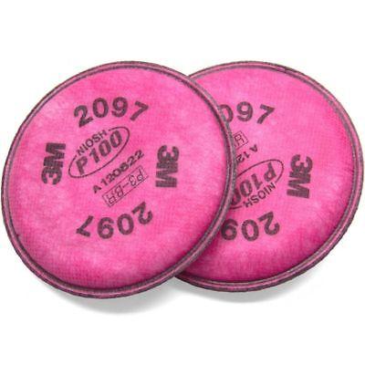 3m 2097 P100 Filter For Respirator 6200 6300 7502 68001 Pair Free Shipping
