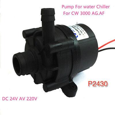 Water Pump P2430 For Industrial Water Chiller Cw-3000 Ag.af 220v24v