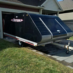 2007 Triton Elite 12' Double Sled Trailer