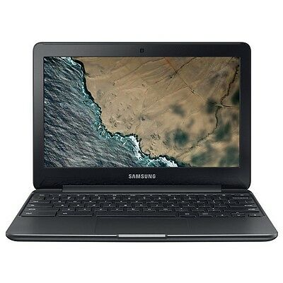 "Samsung XE500C13-K04US 11.6"" Intel Celeron N3060 Chromebook 3 Laptop"