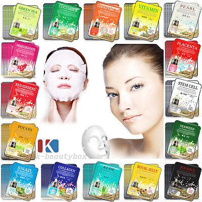 42 PCS Best Essence Facial Mask Sheet, Moisture Face Mask Pack Skin Care (Best Firming Skin Care)