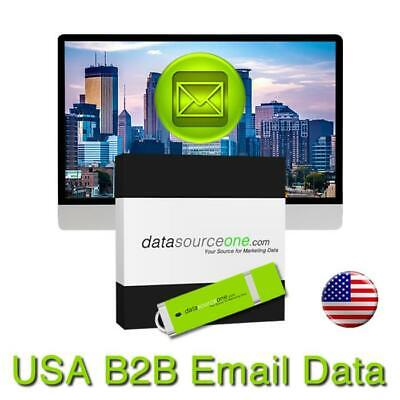 400 Million Usa Consumer Email List Sales Leads Database