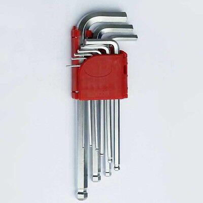Imbus Satz CrV HEX Winkelschlüssel imbusschlüssel Satz 9.tlg.