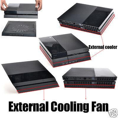 PS4 Kühler Design Cooler Lüfter Ständer passend für Playstation 4 mit USB HUB
