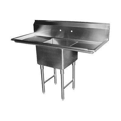 1 Compartment Sink With 2 24 Drain Boards Nsf
