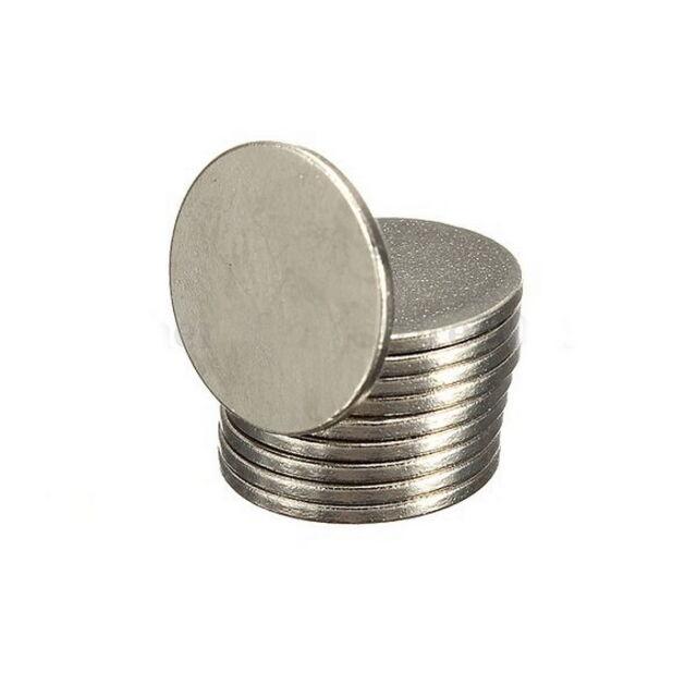 100 pcs Super Strong Round Disc 12 x 1 mm Magnet Rare Earth Neodymium N52 N