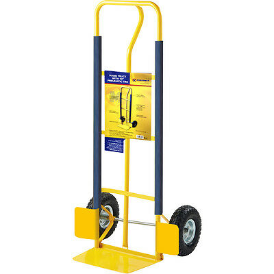 HEAVY DUTY SACK TRUCK INDUSTRIAL HAND TROLLEY WHEEL BARROW TYRE PNEUMATIC