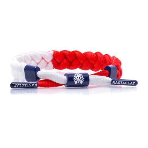 Brand New RASTACLAT Stars USA Red White Blue Braided Shoelace Bracelet