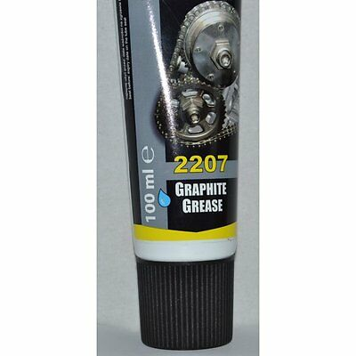 1 x 100ml Graphite Grease Lubricant For Splined & Screwed Joints Gears Gates New